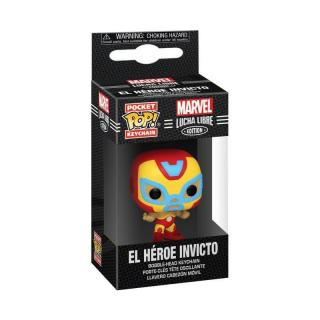 Funko POP Keychain: Marvel Luchadores - Iron Man  [HRAČKA]